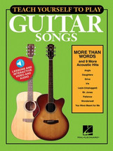 Teach Yourself to Play Guitar Songs - More than words...
