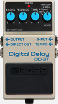 BOSS DD3T Digital Delay FX Pedal