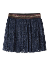 Sol Navy Lace Skirt