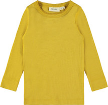 Gaya Mustard Long Sleeve Top