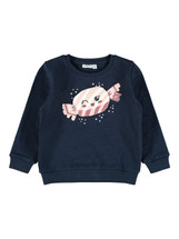 Carla Navy Sweatshirt From Name It Mini