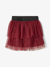 Fritte Burgundy Skirt  From  Name It Mini