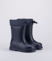 Navy Chufo Cuello Wellington Boots From Igor
