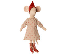 Christmas Girl Mouse From Maileg