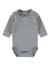 Raskus Stripe Long Sleeve Body Romper