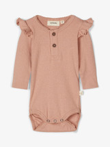Isadora Long Sleeve Baby Romper From Lil' Atelier