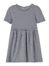Josephine Blue Stripe Cotton Dress