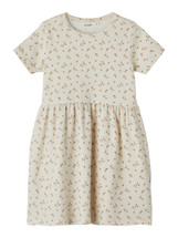 Gaya Printed Short Sleeve Dress From Lil' Atelier
