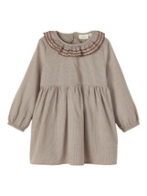 Roxanne Long Sleeve Dress with Collar From Lil' Atelier