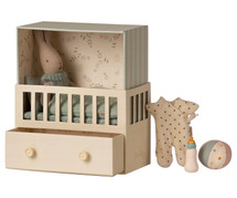 Baby Room with Micro Rabbit From Maileg