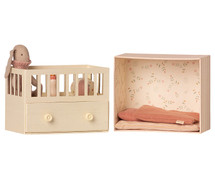 Baby Room with Micro Bunny From Maileg