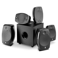 Focal SIB EVO Atmos 5.1.2 Two-Way Bass-reflex Satellite Home Cinema Loudspeaker System Compatible