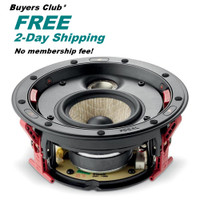 """Focal 300 Series ICW 4 In-Wall/ In-Ceiling Loudspeaker with A 4"""" Flax Woofer *Buyers Club"""