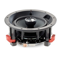 Focal 100 ICW5 In-Wall/In-Ceiling 2-Way Coaxial Loudspeaker, Each