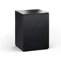 Salamander Chicago 317 Single-Width AV Cabinet in Black Oak