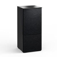 Salamander Chicago 517 Single-Width AV Cabinet in Black Oak