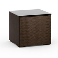 Salamander Berlin 217 Sub Enclosure Single-Width AV Cabinet in Wenge