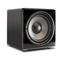 PSB SubSeries 350 Subwoofer 12-inch Driver Powered with 300 Watts in Gloss Black