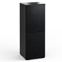 Salamander Chicago 617 Single-Width AV Cabinet in Black Oak