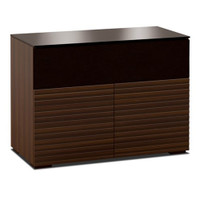 Salamander Zurich 329 Double-Width AV Cabinet with Speaker Bay in Opium Brown