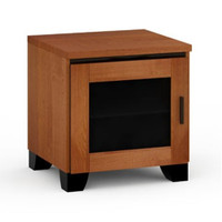 Salamander Elba 217 Single-Width AV Cabinet in American Cherry