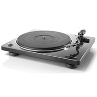 Denon DP-400 Semi-automatic belt-drive turntable with pre-mounted cartridge and built-in phono preamp
