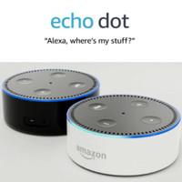 Amazon Echo Dot (2nd Generation) - Smart speaker with Alexa - Black or White.