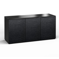 Salamander Chicago 337 Triple-Width AV Cabinet in Black Oak