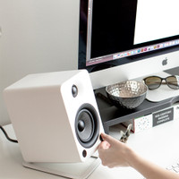 Kanto S4 Desktop Speaker Stands for Midsize Speakers (Pair)
