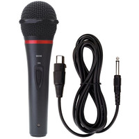Karaoke USA M200 Professional Microphone With Durable Metal Body And Grill (Removable Cord)
