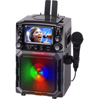 "Karaoke USA GQ450 Portable CDG/MP3G Karaoke Player with 4.3"" Color TFT Screen, Bluetooth, Recording Function, PA"