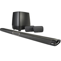 Polk MagniFi Max SR Maximum-Performance True 5.1 Home Theater Soundbar and Wireless Rear Surround Sound System