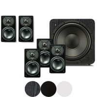 SVS Prime Satellite 5.1 System with (5) Prime Satellite Speakers and (1) SB-1000 Subwoofer