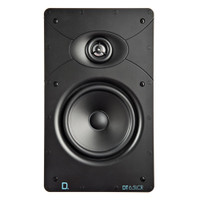 Definitive Technology DT6.5LCR DT Custom Install Series Rectangular In-Wall Speaker