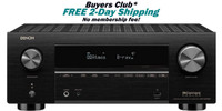 Denon AVR-X3700H 9.2 Channel 8K AV Receiver With 105W Per Channel