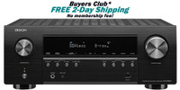 Denon AVR-S960H 7.2 Channel 8K AV Receiver With 90W Per Channel