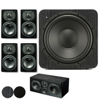 SVS Prime Satellite 5.1 System with (4) Prime Satellite Speakers, (1) SB-1000 Subwoofer and (1) Prime Center Channel Speaker