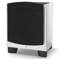 "Revel Performa3 B110 V2 10"" Powered Subwoofer In High Gloss White"