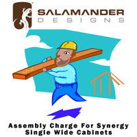 Salamander Designs Synergy Assembly Charge For Synergy Single Wide Cabinet Modules