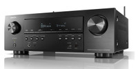 Denon AVR-S750H 7.2 Channel AV Receiver with Voice Control, Bluetooth & Wi-Fi (Open Box)