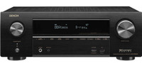 Denon AVR-X1600H 7.2CH 4K Ultra HD AV Receiver with 3D Audio and Heos Built-in (Open Box)