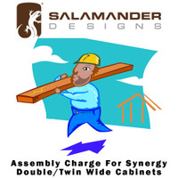 Salamander Designs Synergy Assembly Charge For Synergy Double/Twin Wide Cabinets