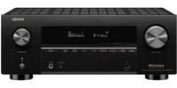 Denon AVR-X3700H 9.2 Channel 8K AV Receiver With 105W Per Channel (open box)