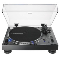 Audio-Technica AT-LP140XP Direct-Drive Professional DJ Turntable/Record Player in Black