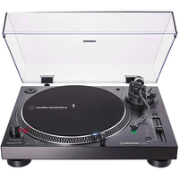 Audio-Technica AT-LP120XBT-USB-BK Direct-Drive Turntable (Analog, Wireless & USB) in Black