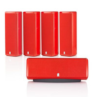 Revel M8 SP5 5-channel Home Theater Sound Support Speaker System In Red