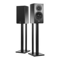 "Revel Concerta2 M16 2-Way 6.5"" Bookshelf Loudspeaker in Gloss Black with Stands (Pair) Demo"
