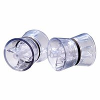 Spin-Clean MKII Replacement Clear Rollers (Pair)