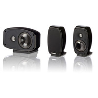 Paradigm Cinema 100 3.0 Stand/Wall Mount L/C/R Speakers in Black Gloss (3 Speakers)