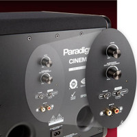 "Paradigm Cinema Sub with 8"" High-Excursion Driver"